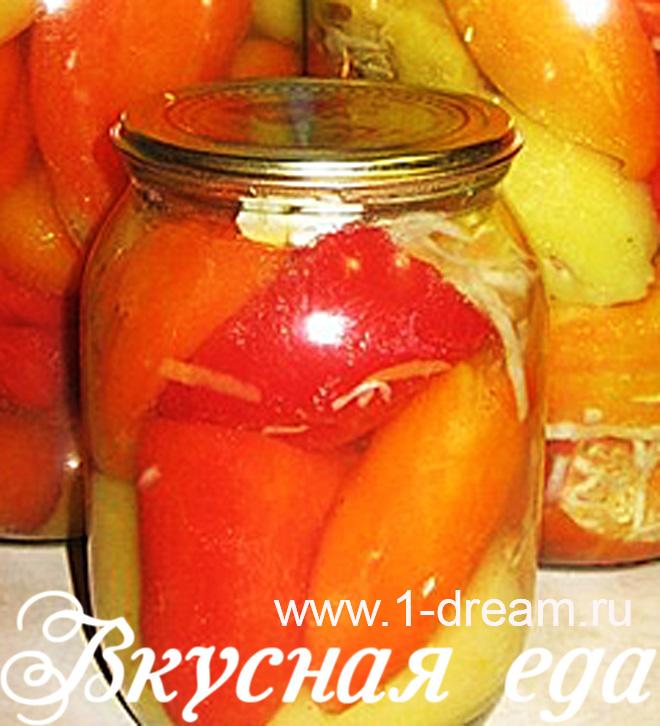 перец болгарский с капустой на зиму рецепты
